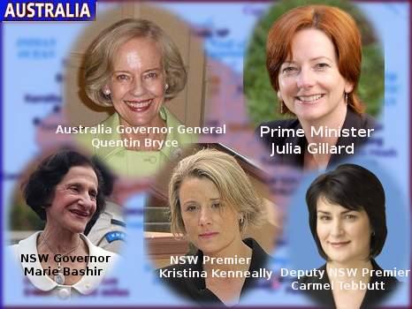 [Australia Female Leader]