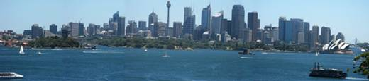 Magnificent Sydney Skyline as the Zoos Background (click for bigger picture)